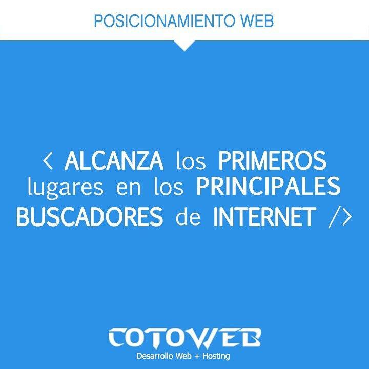 Te posicionamos en los primeros lugares de #google #elquenoenseñanovende #DesarrolloWeb  #meridayucatan http://t.co/fRTIlebRyM