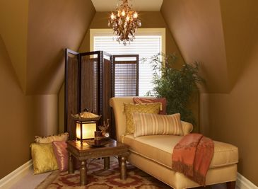 Benjamin Moore's wall paint comes in a variety of interior colors to transform any room into a luxurious living space.