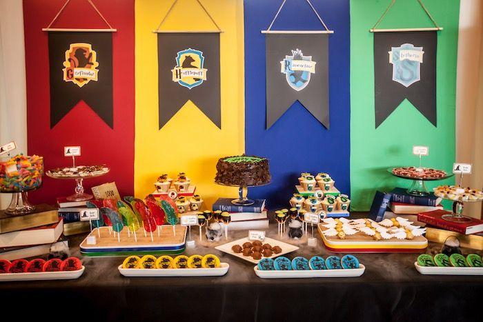 Harry Potter Birthday Party on Kara's Party Ideas | KarasPartyIdeas.com (57)