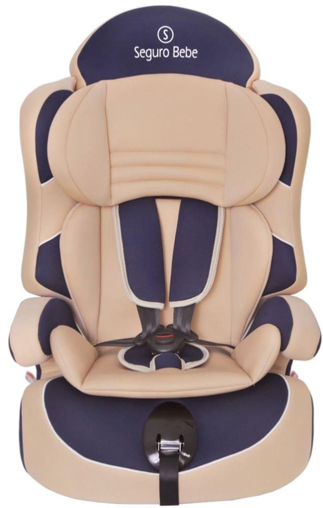 Seguro Bebe Lima Group 123 Car Seat Beige On Navy In 2020 Car Seats Baby Car Seats Bebe