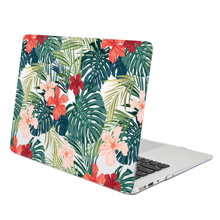 Add color to your life! With the dynamic use of color and patterns, GMYLE Hard Case Print Glossy (Hibiscus Pattern) gives a fashionable touch for your Mac. Made with high quality material, this ultra