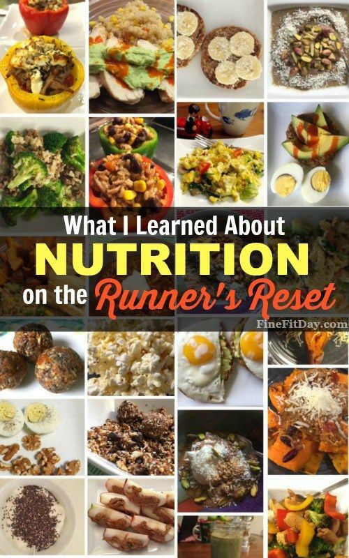What I Learned About Nutrition on the Runner's Reset. I started this 21-day reset program for runners thinking I would learn some new easy dinner recipes, as well as how to properly fuel and recover from runs using food. What I took away from the reset surprised me. Check out why I think everyone should reassess their eating habits.