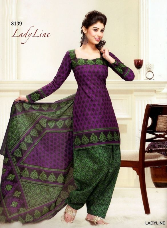 DESIGNER PURE COTTON ETHNIC PRINTED INDIAN SALWAR KAMEEZ SUIT (Any Size) 8139 | eBay