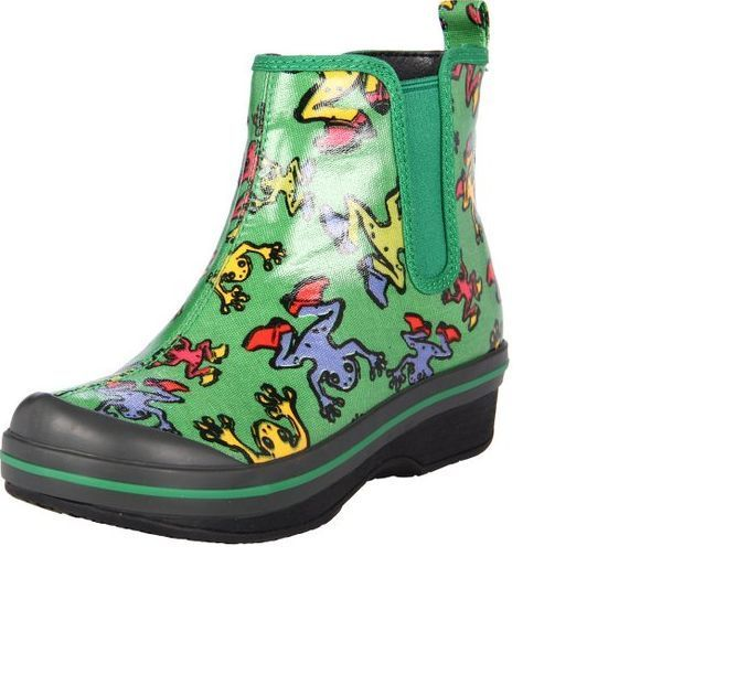 *- New Dansko VICKI Girls Rain Boots Cute Frog Print  SALE! 30 12.5 13