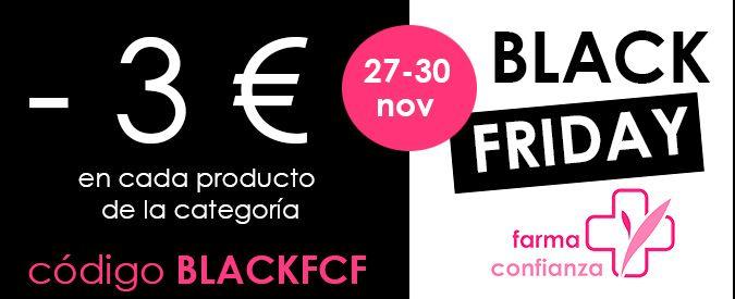 Black Friday en Farmaconfianza