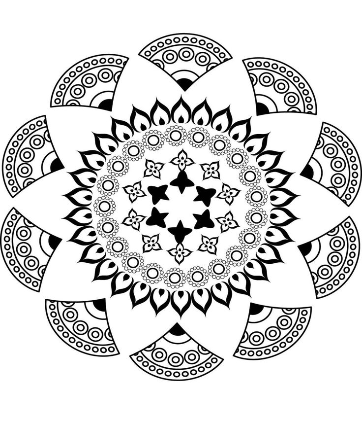 7302 best mandalas images on pinterest - Dessin pour anniversaire adulte ...