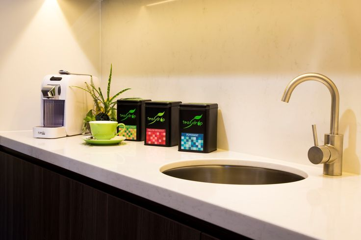 Espresso coffee and boutique tea in-room amenities at Daintree EcoLodge & Spa, Daintree rainforest, FNQ