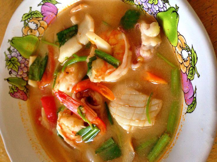 #Tum -Yum seafood #thaifood