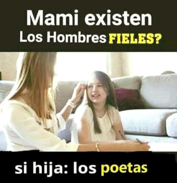 Mami Existen Los Hombres Fieles Si Hija Los Poetas Ja Memes Funny Incoming Call Screenshot