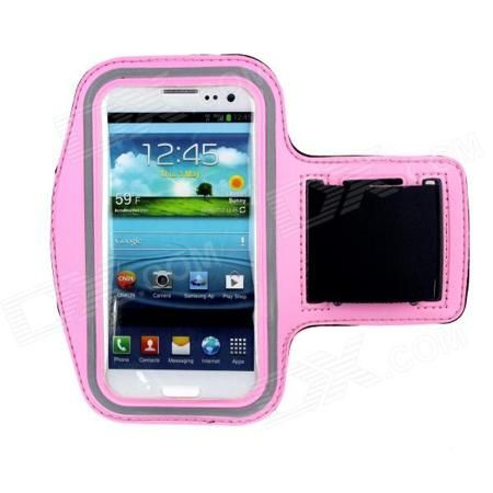 Waterproof Outdoor Sports Lycra Fabric Armband for Samsung Galaxy S III / i9300 - Black + Pink  — 279.01 руб. —  Model: BD1 - Color: Pink + Black - Material: Lycra fabric - Band Length: 26cm - With Velcro band length adjustable - Provide best protection for your cell phone - Great for outdoor running biking hiking and sporting use - Package includes: - 1 x Armband