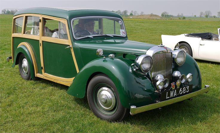 1948 Alvis TA18 Estate Wagon