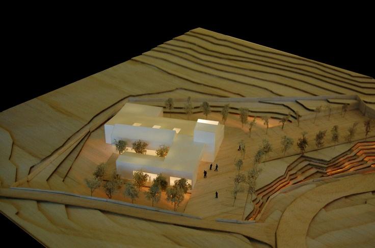 Escuela Técnica Superior de Arquitectura de Sevilla. Maqueta