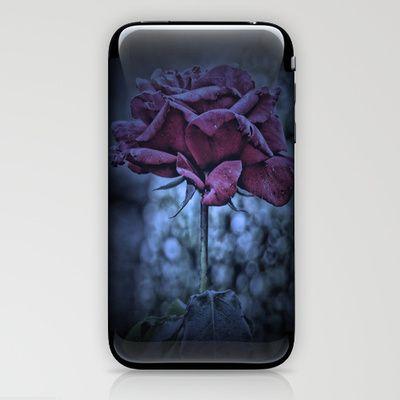 Purple Rose iPhone & iPod Skin by AngelEowyn. $15.00