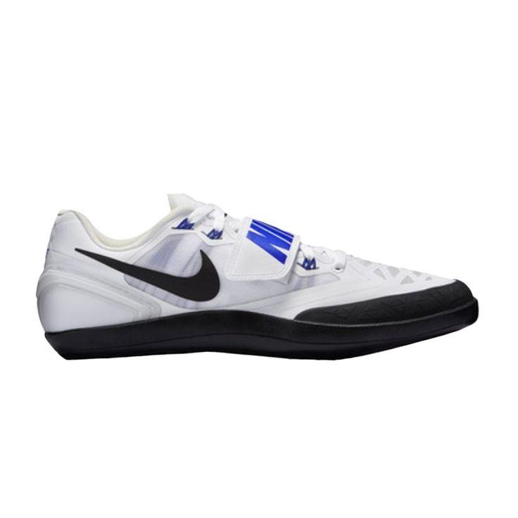 Nike Zoom Rotational 6 Shot Put Discus Throwing White Blue size 8.5 NEW #Nike