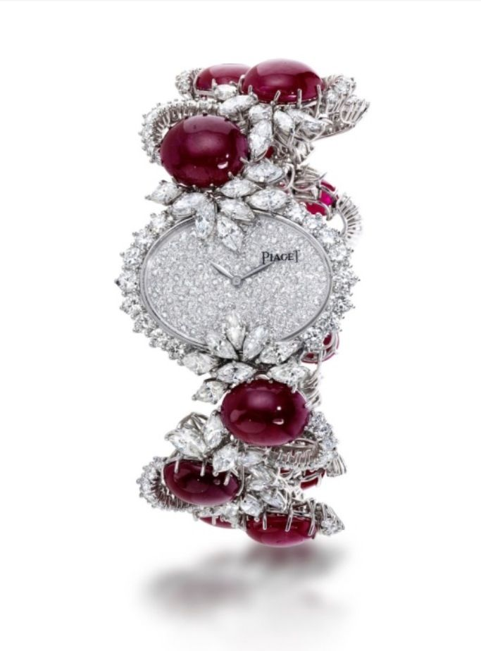 Watch by Piaget - rubies and diamonds