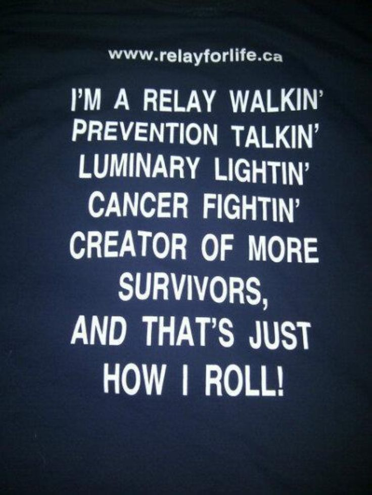 Yeah, buddy! #relayforlife