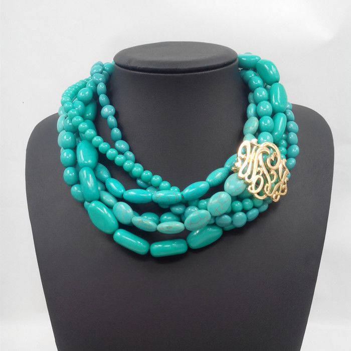 Cheap pendant lampholder, Buy Quality jewelry heart pendant directly from China pendant stone Suppliers: new design multilayer stone necklace women statement choker turquoise necklaces pendants fashion brand jewelry