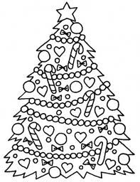 Online Christmas Coloring Book Printables SheetsChristmas Tree