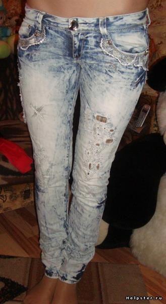 Как сделать джинсы варёнки