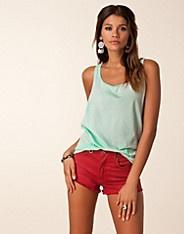$99 Fiore Big Singlet - Serious Sally by Rut m.fl. - Turkos - Toppar - Kläder - NELLY.COM Mode online på nätet