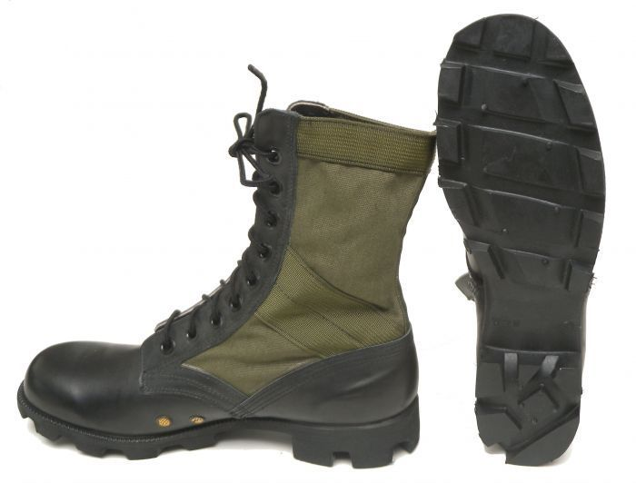 British Army Wellco Jungle BootBlack