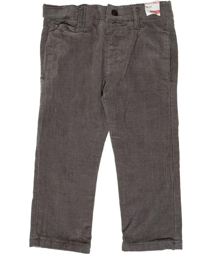 Magnifique pantalon en velours côtelé gris par Name It. name-it.fr.emilea.be