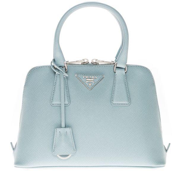 41b09ef3548f ... inexpensive prada light blue small saffiano lux promenade bag a78ca  1fe99 ...