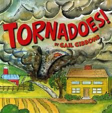 Tornadoes by Gail Gibbons or really any of Gibbon's work is great for non-fiction text features.