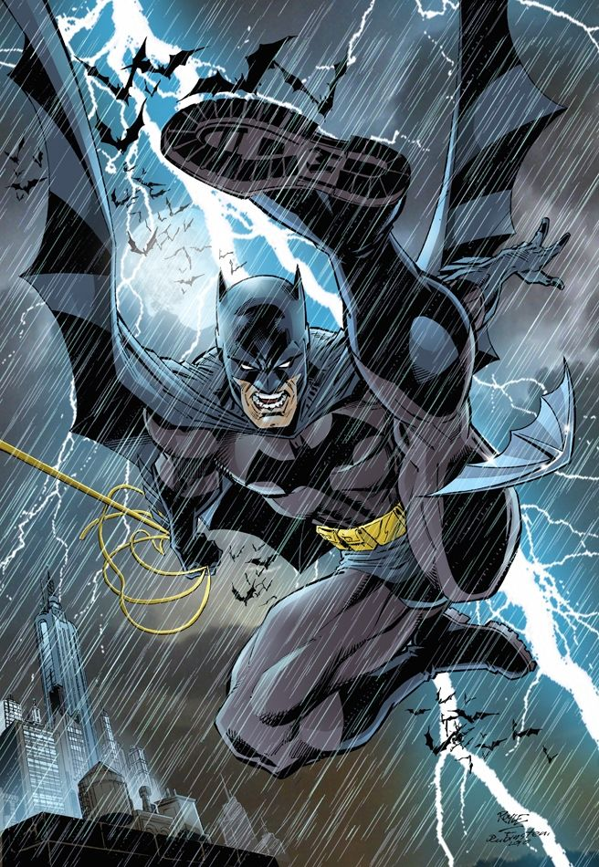 Batman Comic Art  John  Royle....IIII