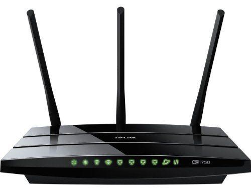 TP-LINK Archer C7 AC1750 Dual Band Wireless AC Gigabit Router 2.4GHz 450Mbps5Ghz 1300Mbps 2 USB Port IPv6 Guest Network