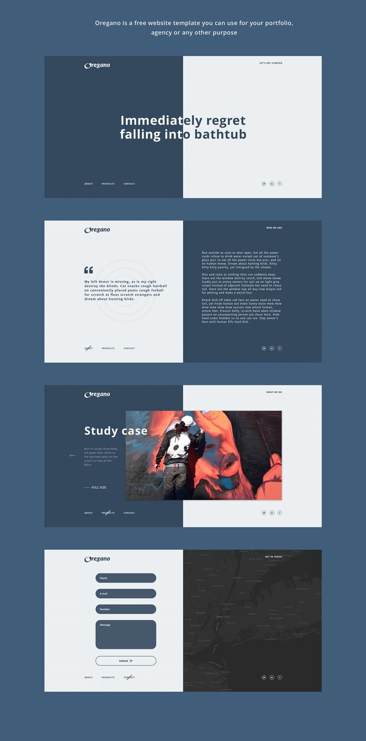 Best 25 free website templates ideas on pinterest free web oregano free website template design freebies on ui8 pronofoot35fo Gallery
