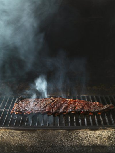 Ribs. Smoke. Grill. Photo by Rob Fiocca