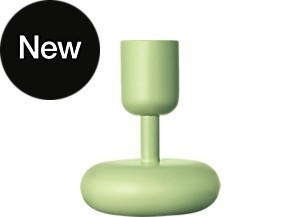 Nappula Candleholder 107 mm celadon green
