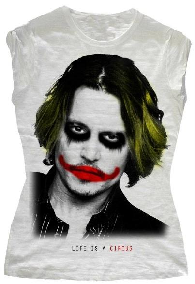 Johnny Depp Joker Life Is A Circus Pinterest Jokers