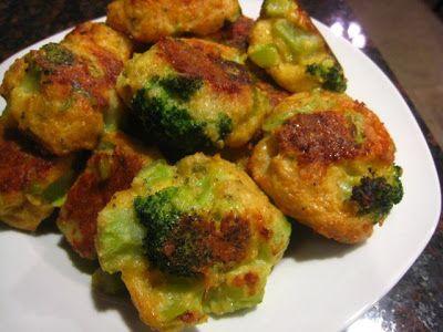 Baked Broccoli Bites  2 WW PP each