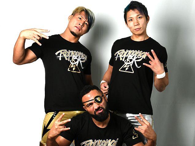 新日本プロレス闘魂SHOPROPPONGI 3K Tシャツ(XS): Tシャツ