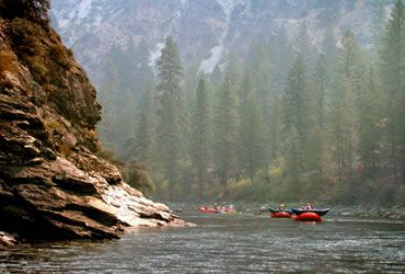 Idaho...Idaho has world class river rafting and outstanding fishing for the outdoorsman. Snake River for fishing
