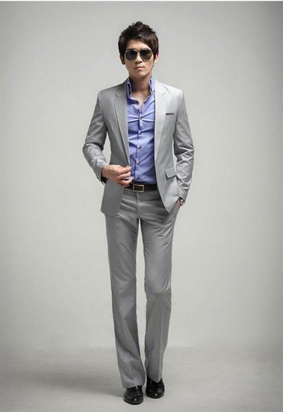 Деловой стиль рубашка брюки мужчин фото