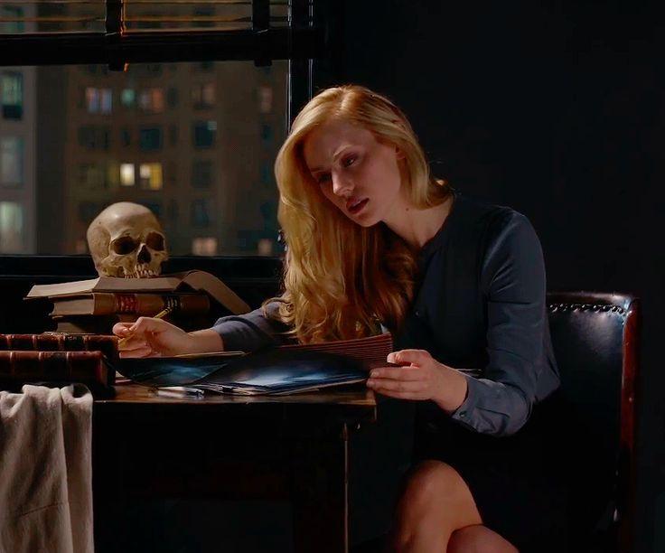 reyynas: Karen Page - Daredevil S2 Promotional / Saint Jerome Writing - Caravaggio (1605-1606).