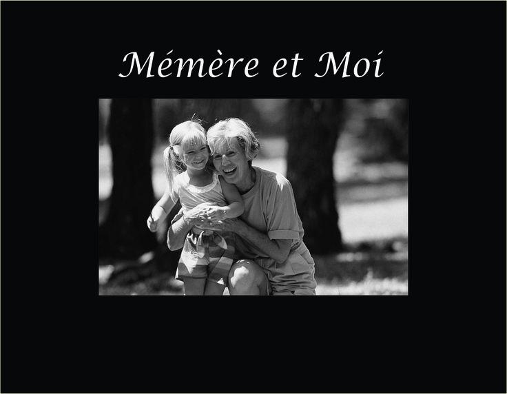 "Mémère et Moi 4""x6"" Photo Frame"