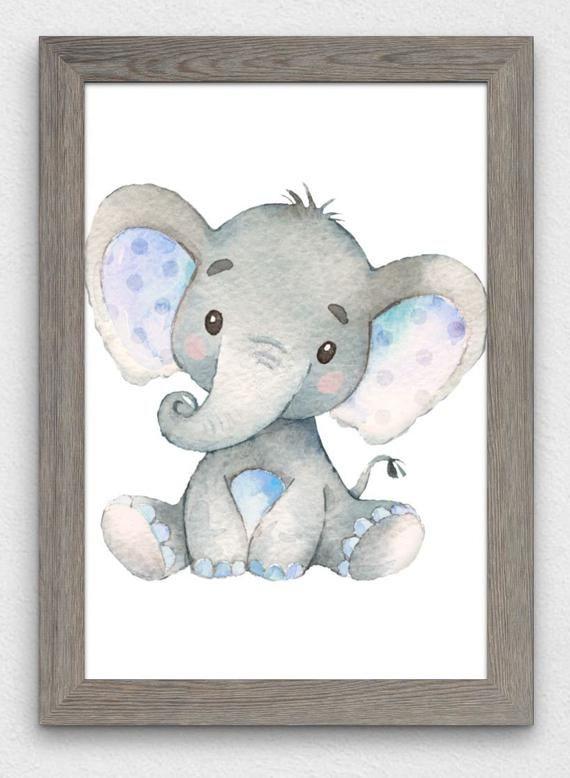 Elephant Baby Shower Napkins