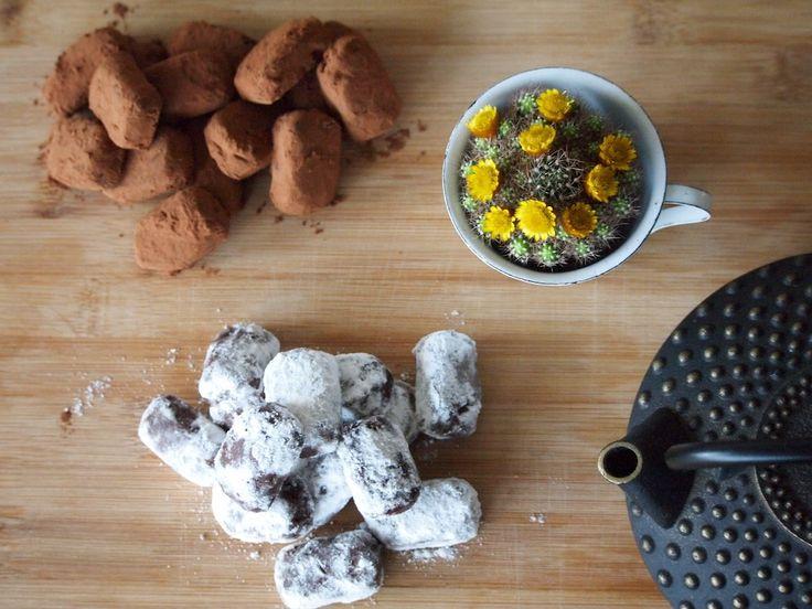Heerlijke zelfgemaakte chocoladetruffels