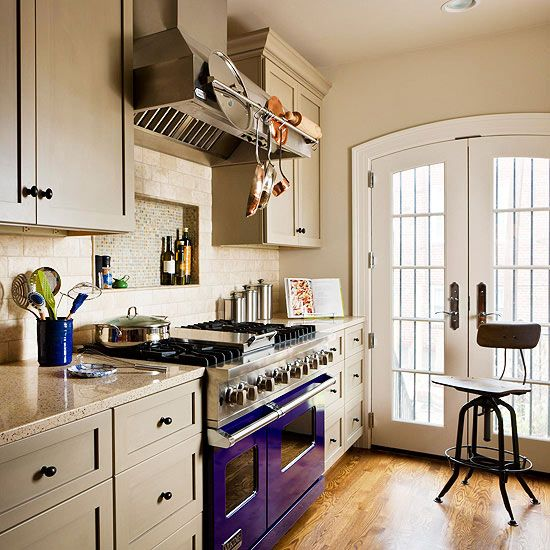 Cottage Galley Kitchen: 30 Best Purple Ideas And Range Cookers Images On Pinterest