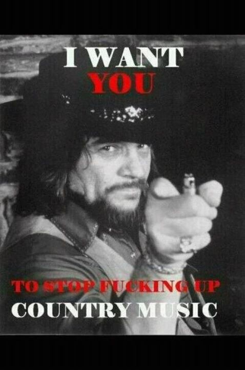 Waylon Jennings...the best country music singer EVER!