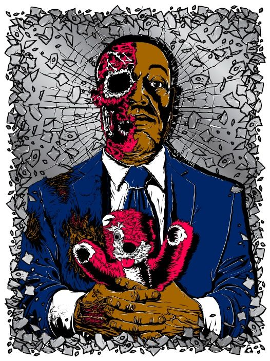 Gus Fring (Breaking Bad), by Anthony Petrie