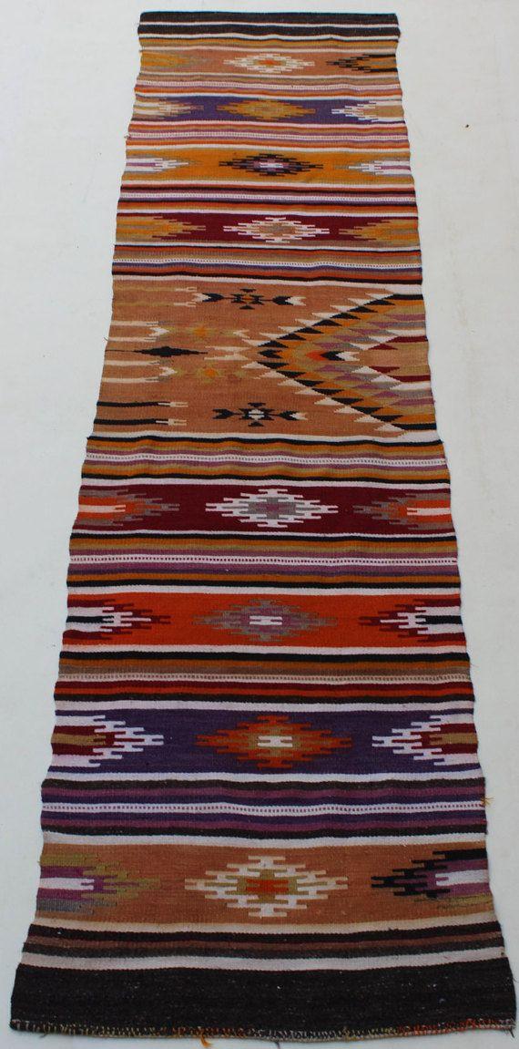 kilim Runner rug Vintage rug Tribal runner rug #housewares @EtsyMktgTool  #3x11hallwayrunner #vintagearearug #rugrunner #tribalrunnerrug