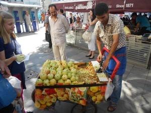 Mestieri turchi 1: lo sbucciatore di mele