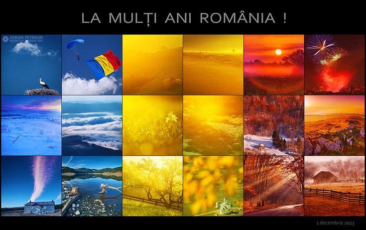 La multi ani ROMANIA ! #romania #1decembrie
