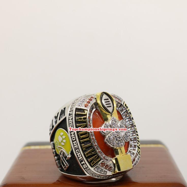 2016 Clemson Tigers NCAA Football National Championship Rings