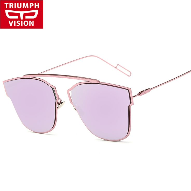 TRIUMPH VISION French Brand Metal Designer Sunglasses Woman Fashion Trends Eyewear Sun Glasses Female Mirror 2016 oculos de sol #clothing,#shoes,#jewelry,#women,#men,#hats,#watches,#belts,#fashion,#style